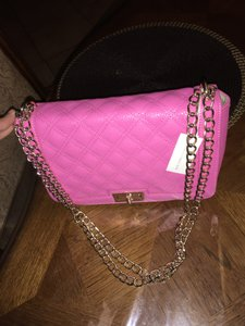 New York & Company Satchel in Pink