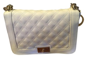 New York & Company Satchel in White