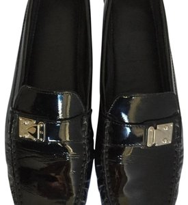 Louis Vuitton Black Patent Flats