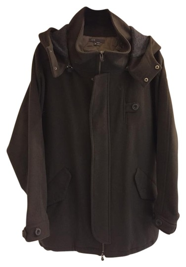 Vince Wool Bomber Coat/ Collection Pea Coat - 84% Off Retail delicate