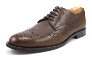 Tod's Men's Leather Wingtip Oxfords