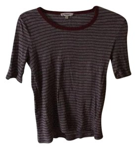 Madewell T Shirt Red and gray