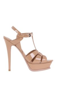Saint Laurent Ysl Nude Sandals