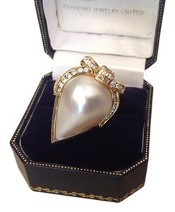 Other 18K DIAMOND and PEARL RING