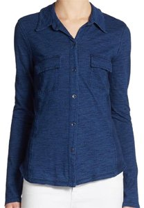 Splendid Button Down Shirt Blue