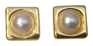 Other 14KARAT MABE PEARL EARRINGS
