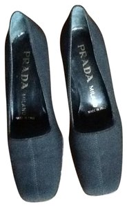 Prada Black satin, Pumps