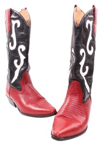 Nine West Black, red, white Boots