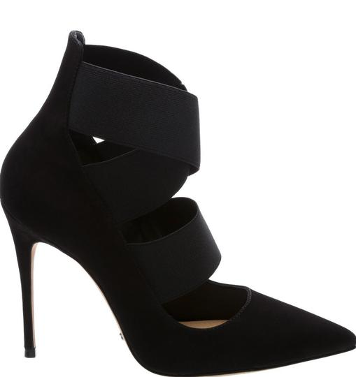 SCHUTZ Winter Suede Black Pumps