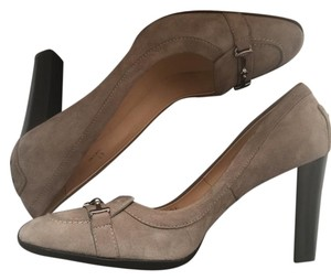 Tod's Rubber Sole Gray Pumps