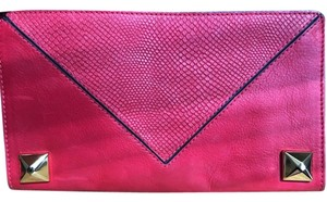 Linea Pelle Red Clutch