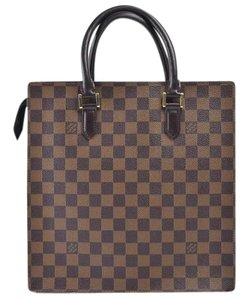 Louis Vuitton Venice Damier Leather Handbags Tote in Brown