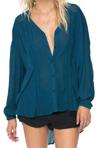 Amuse Society Top Indy Blue