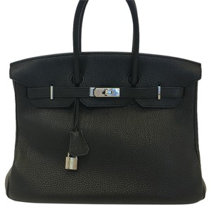 Hermès Birkin Birkin 35cm Togo Leather Birkin Satchel in black
