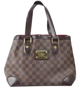 Louis Vuitton Hampstead Pm Damier Leather Handbags Tote