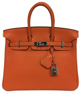 Hermès Birkin Birkin25 Satchel in orange