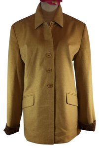 Burberry London Burberry Jacket Mustard Blazer