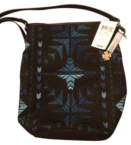 Lucky Brand Lucky Nwt Woven Bucket Cross Body Bag