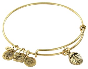 Alex and Ani Alex And Ani Cbd12ccrg Cupcake Expandable Ewb Bracelet Russian Gold