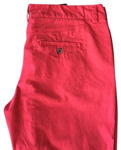 H&M Straight Pants Red