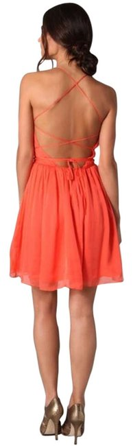 Preload https://item5.tradesy.com/images/halston-coral-heritage-crisscross-in-above-knee-short-casual-dress-size-2-xs-200489-0-0.jpg?width=400&height=650