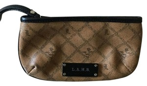 L.A.M.B. Wristlet in Brown & Black