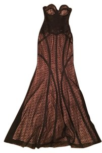 Jovani Mermaid Strapless Black Gown Dress