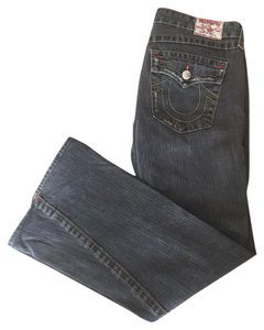 True Religion Denim Flare Leg Jeans-Distressed