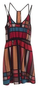 Lush short dress Multicolor on Tradesy