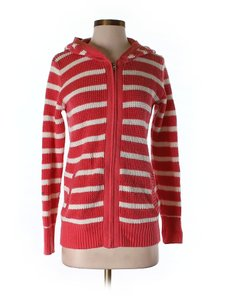 Old Navy Stripes Hoodie Small Tunic