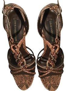 Steven by Steve Madden Taupe multi Sandals