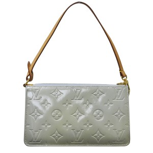 Louis Vuitton Monogram Handbag Green Clutch