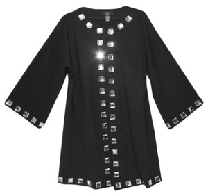 sandra and andre Rhinestones Black Jacket