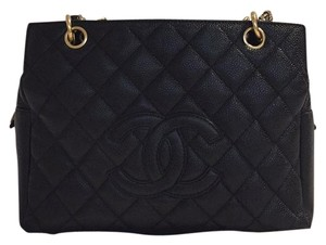 Chanel Petite Timeless Tote Caviar Shoulder Bag