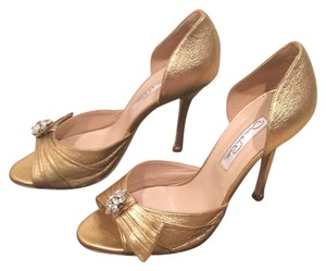 Oscar de la Renta Gold Formal
