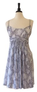 Elie Tahari short dress Dove Grey on Tradesy
