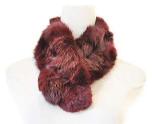 Anthropologie Rabbit Fur Scarf