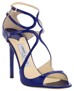 Jimmy Choo Aegean Blue Sandals