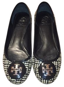 Tory Burch Black and cream Flats
