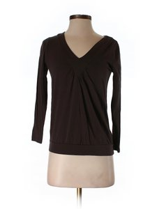 Michael Kors Michael V Neck Brown Small New Sweater