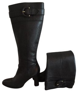 Banana Republic Knee High High Heel Over The Knee Black Boots