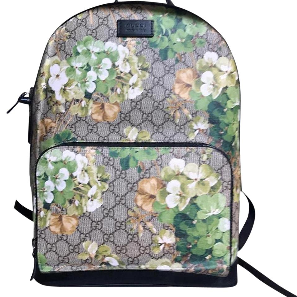 97ed0bd8ce36 Gucci Floral Print Backpack - Tradesy