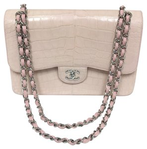 Chanel Croc Croc Flap Cross Body Bag