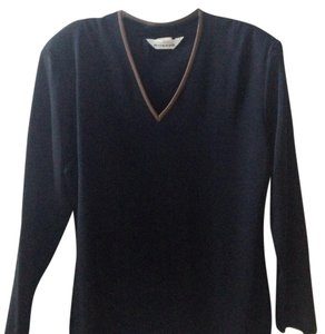 Misook Knit Black Travel Sweater