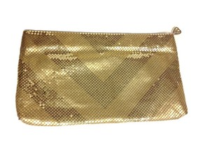 Whiting & Davis And Mesh Vintage Gold Clutch
