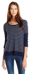 Michael Stars Thermal Stripe Top Nocturnal