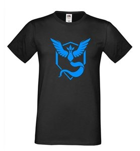 Others Follow Mystic Team Mystic Pokemon Go Pokemon Collector T Shirt black and blue