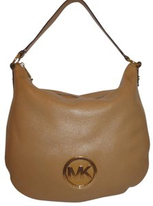 Michael Kors Refurbished Leather Lined Hobo Bag
