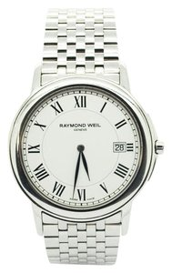 Raymond Weil Raymond Weil Tradition Slim Stainless Steel Men's Watch White Dial