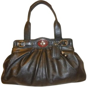 Coach Refurbished Leather Lined Multi-pocket Hobo Bag